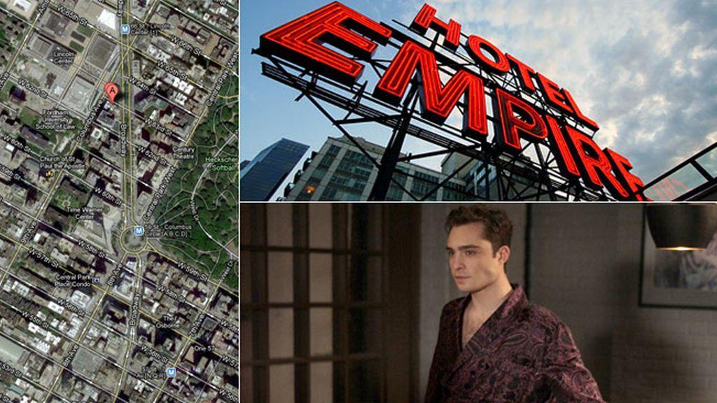 El Hotel Empire, el pequeño imperio de Chuck Bass