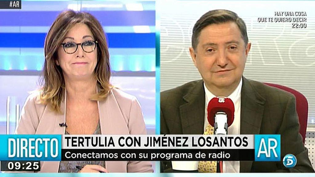 """Jiménez Losantos: """"Poemos es una fuerza totalitaria"""""""
