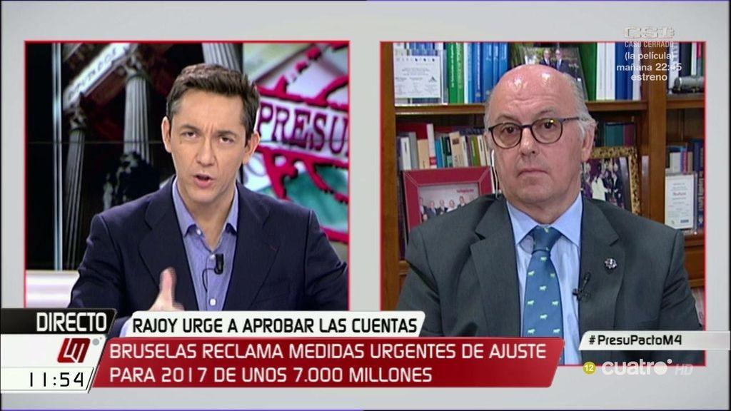 """Aldo Olcese, economista: """"Los recortes se harán en la financiación autonómica"""""""