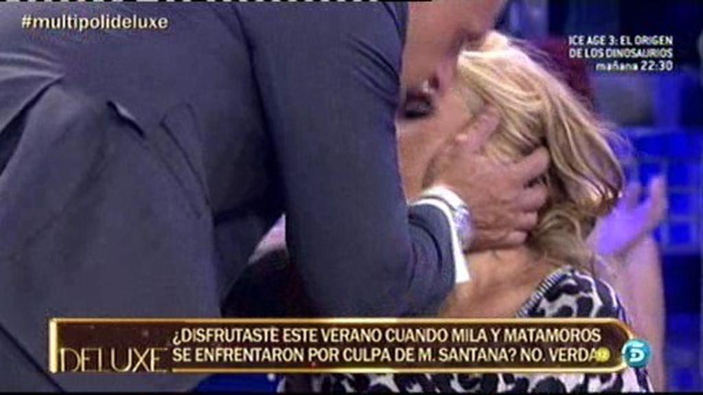 ¡Matamoros besa a Lydia Lozano!
