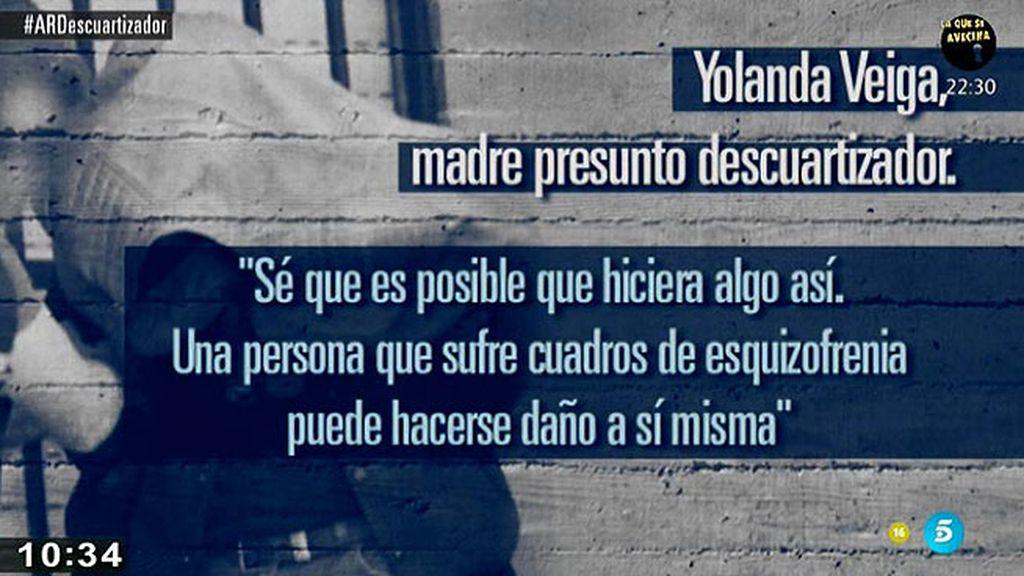 """Yolanda, madre del descuartizador de Majadahonda: """"Su padre no se preocupaba de que tomara la medicación"""""""