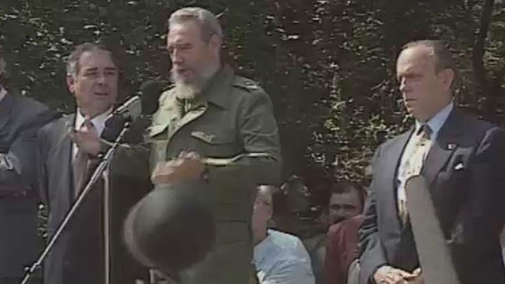 """El día en que Fidel Castro se reconoció """"hijo legítimo de Galicia"""""""