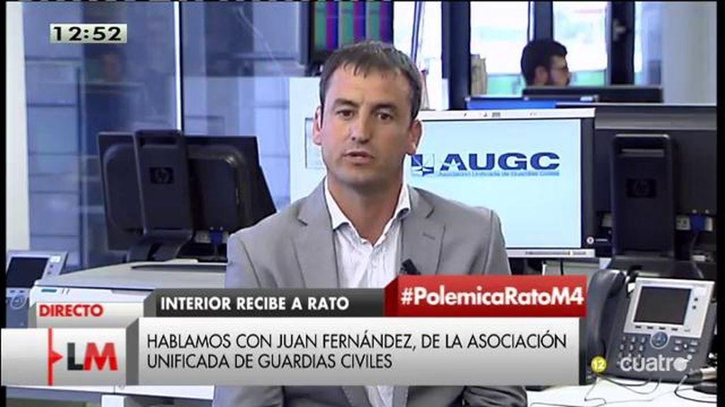 """J. Fernandez: """"Una comparecencia del Ministro de Interior es insuficiente"""""""