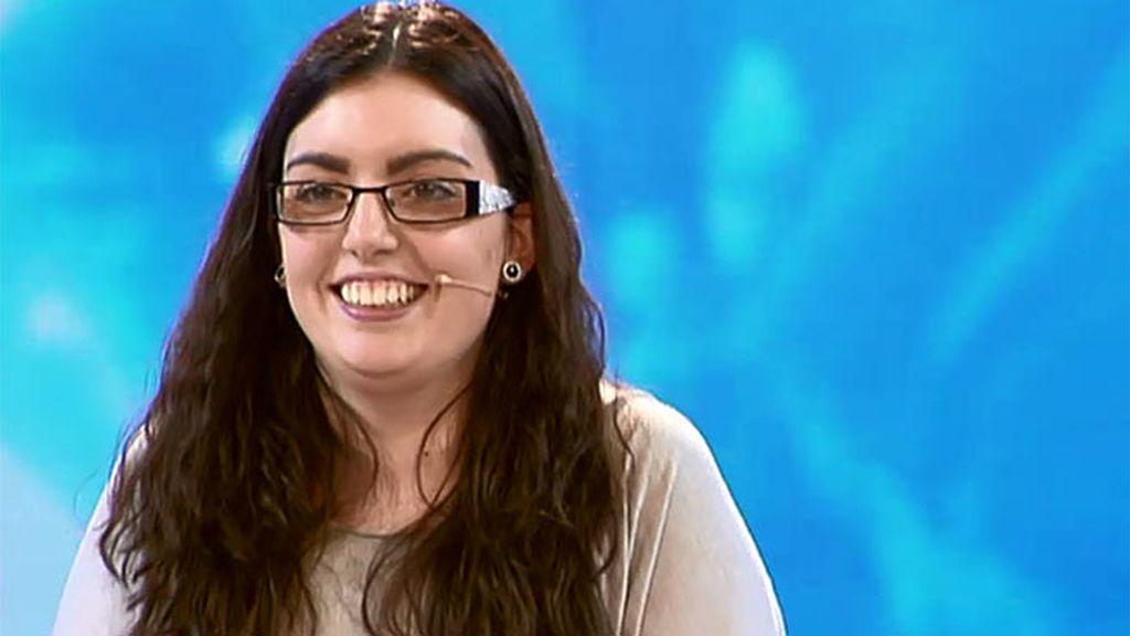 El cambio exprés de Águeda por Cristina Rodríguez en el plató de 'Cámbiame'