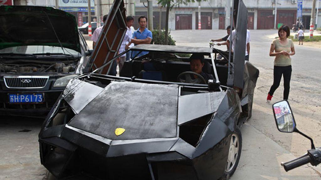 El Lamborghini chino, cuando la imaginación suplanta el lujo