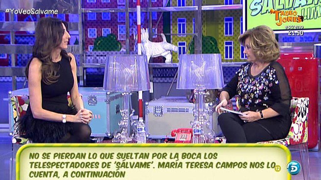 María Teresa Campos por fin ha visto las nuevas casas de sus hijas