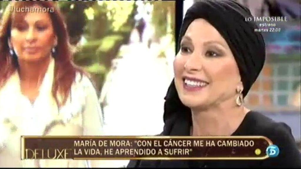 """María de Mora: """"Lo que me ha cambiado la vida es aprender a sufrir"""""""