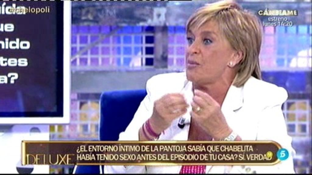 """Chelo García Cortés, sobre Chabelita: """"Jugó conmigo. Me utilizó"""""""