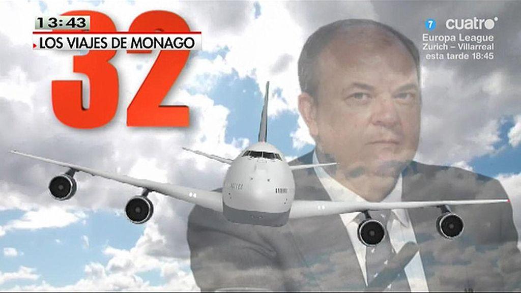 Los viajes de Monago