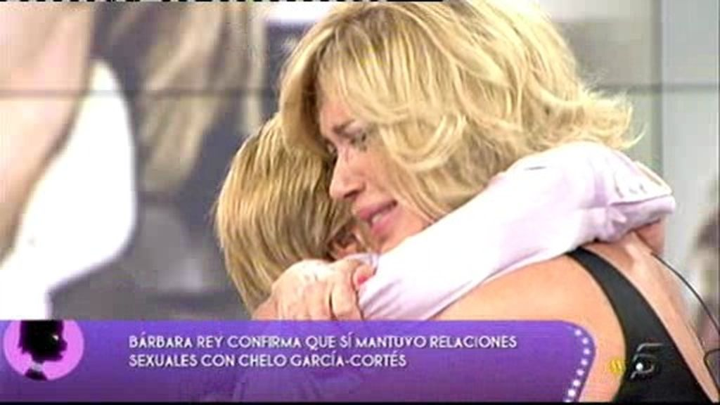 Chelo y Bárbara se juraron que jamás habrá nada que rompa su amistad