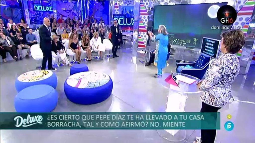 La pregunta más esperada: ¿Ha llevado Pepe Díaz a Carmen Gahona borracha a su casa?