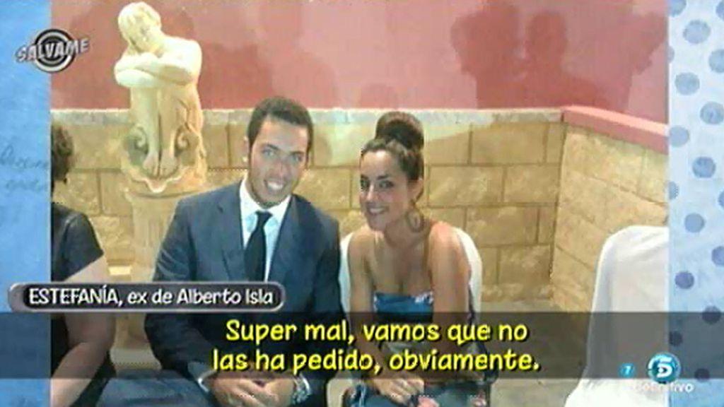"""Estefanía Martínez, sobre la boda de Alberto y Techi: """"Creo que todo es un montaje"""""""