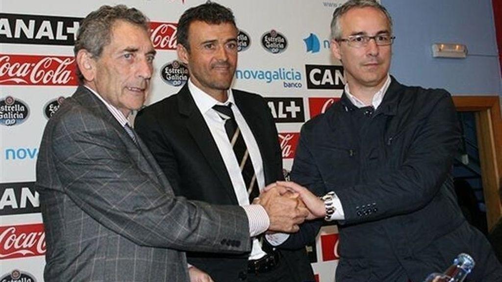 Luis Enrique Martínez, nuevo entrenador del Real Club Celta de Vigo