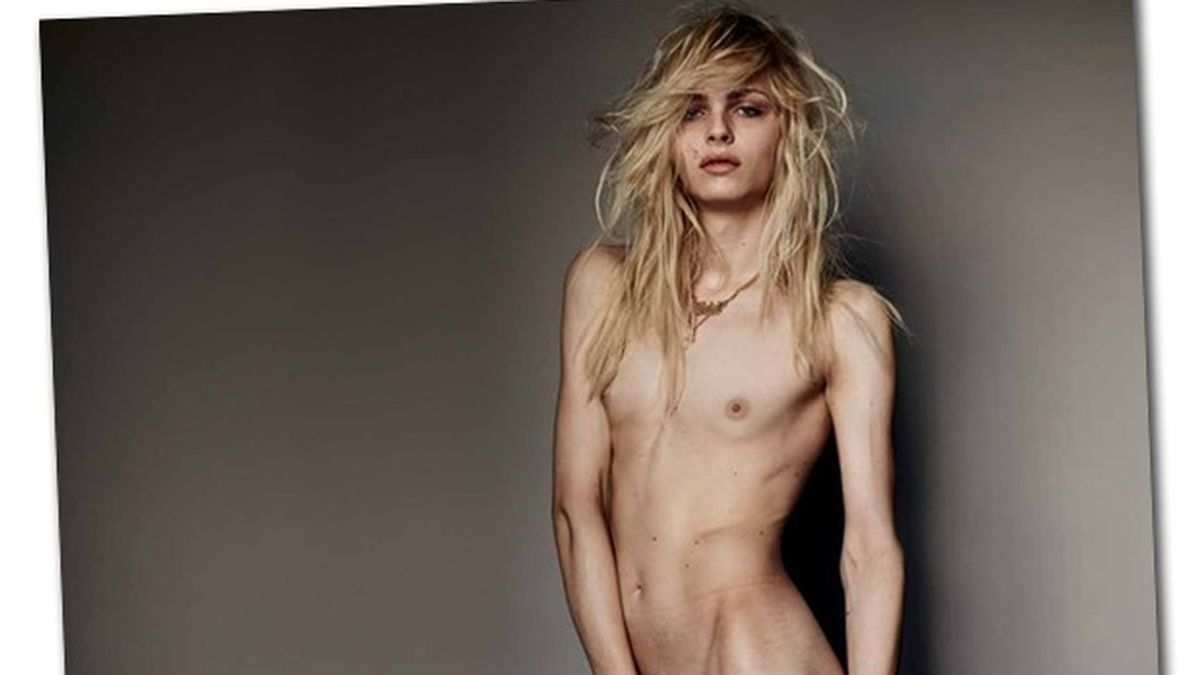 Andrej Pejic posa desnudo para Mario Testino en Vogue Brasil