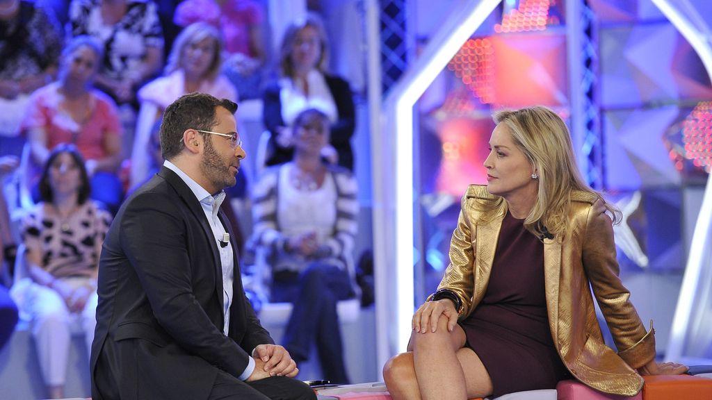 Sharon Stone, invita de lujo en 'Hay una cosa...'