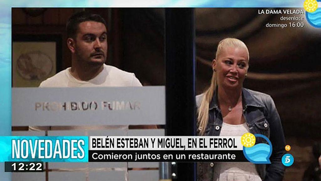 Belén y Miguel, cena para dos en El Ferrol