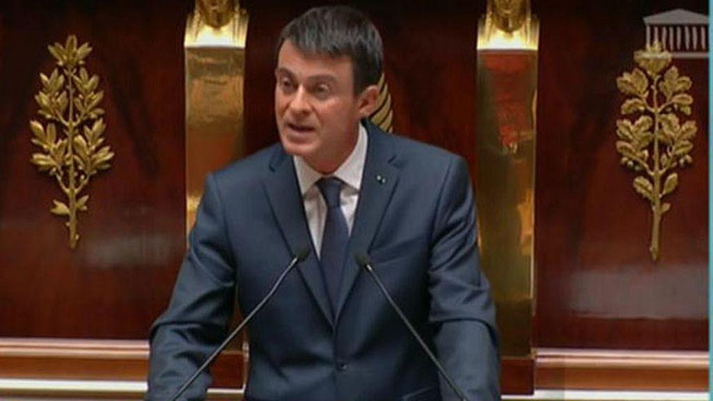 """Manuel Valls: """"Hay riesgo de que los terroristas usen armas químicas"""""""