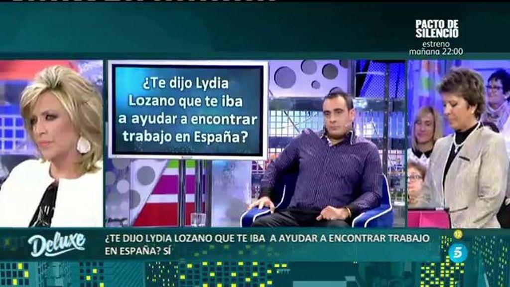 """El Polideluxe confirma que Lydya Lozano llamaba """"mi cubanito"""" a Amable González"""