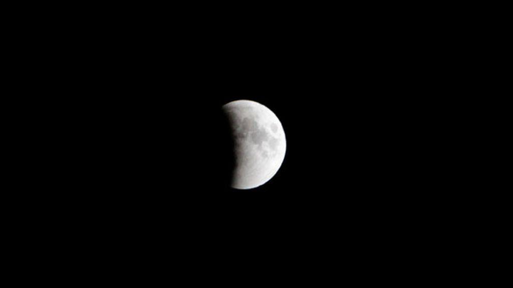 El eclipse de Luna, en imágenes