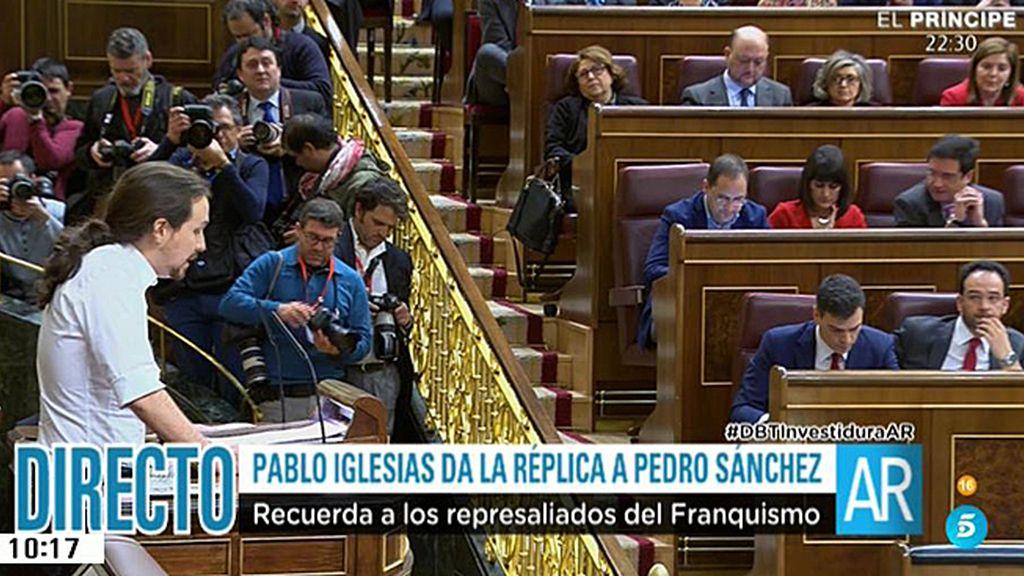 """Pablo Iglesias: """"La política no es el engaño de pactar para que todo siga igual"""""""