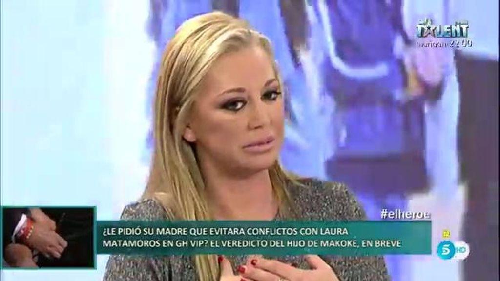 """Belén Esteban: """"Nunca he visto a Toño con ninguna mujer pero sí he visto pruebas"""""""