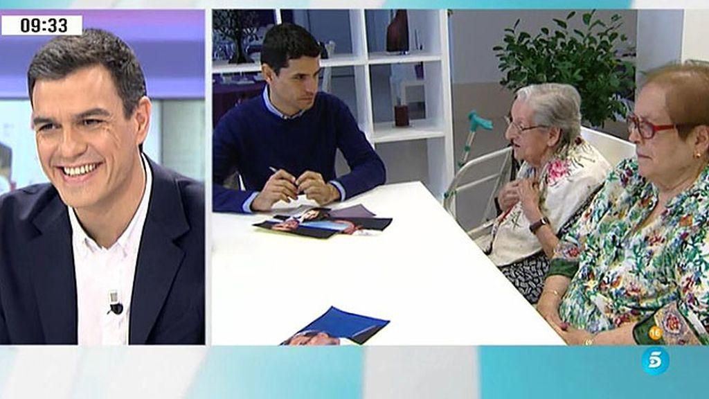 ¿Será el voto pensionista para P. Sánchez?