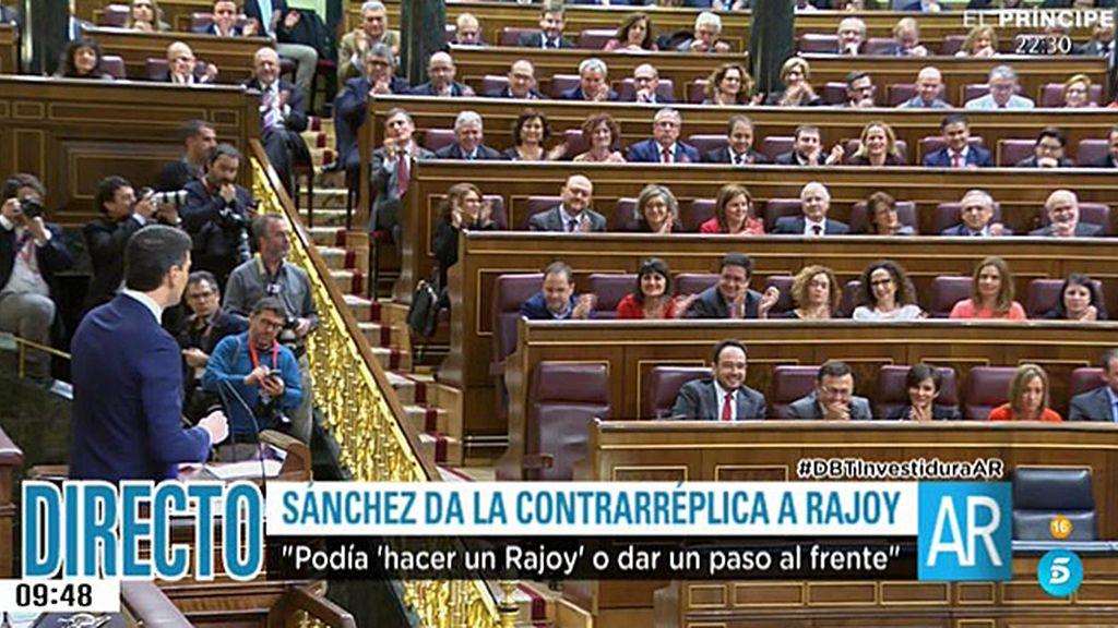 """Sánchez, a Rajoy: """"Podemos es su única tabla de salvación para convertirse en presidente"""""""