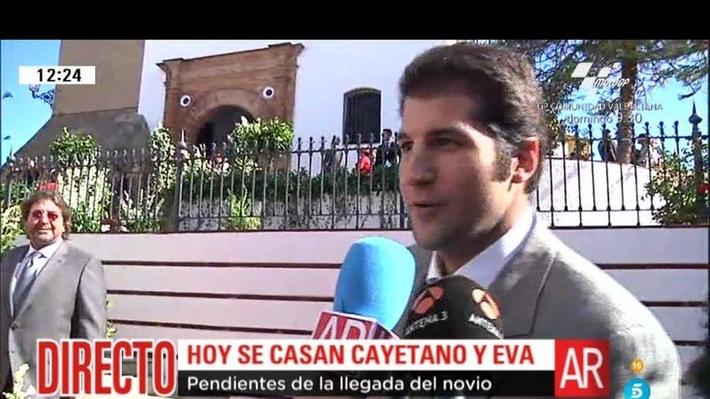 """Julián Contreras Jr: """"Vengo a una boda, no a reencontrarme con nadie"""""""
