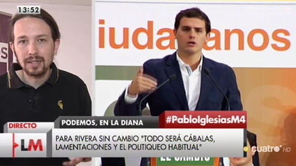 """P. Iglesias: """"Creo que Ciudadanos ha presentado un programa demasiado parecido al de PP"""""""