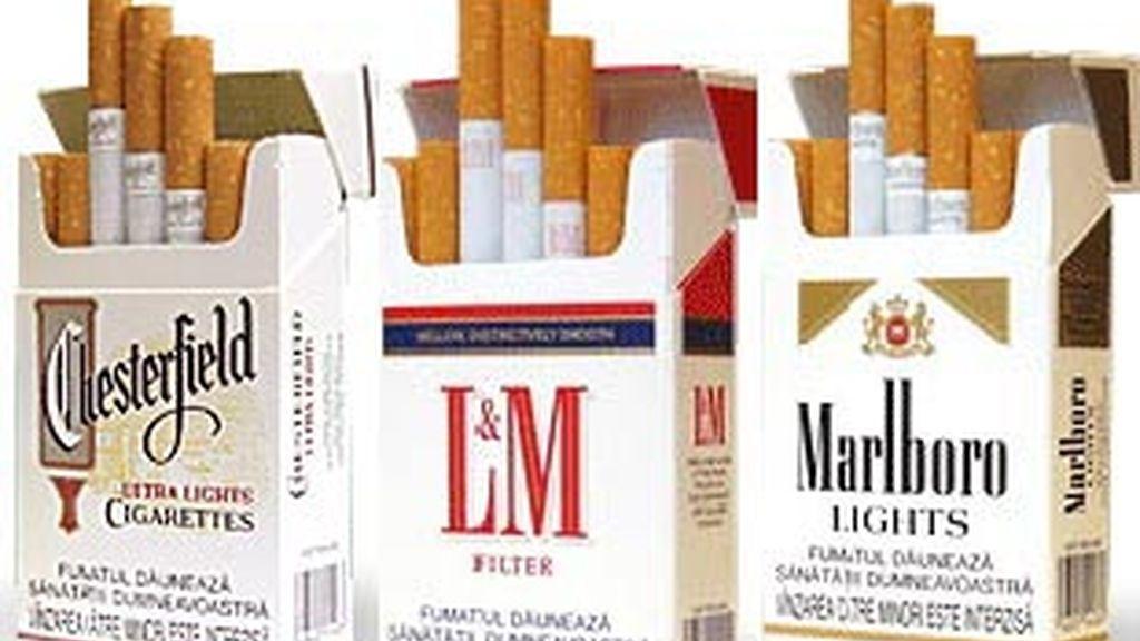 Imagen de las tres marcas de cigarrillos que suben los precios.