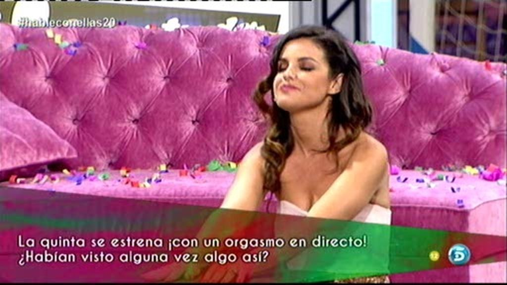 ¡Marta Torné finge un orgasmo!