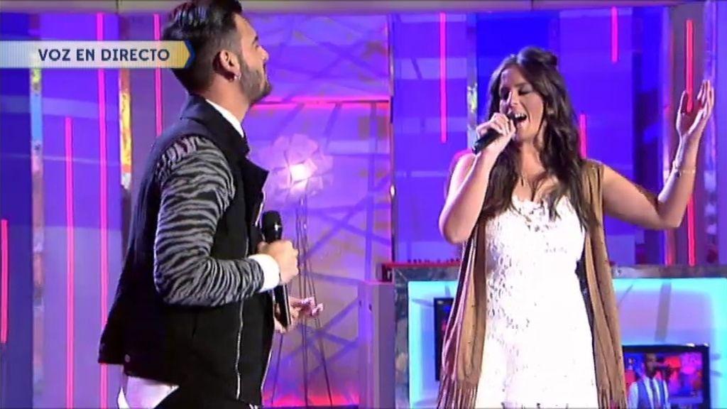 Anabel Pantoja y Manuel Cortes, juntos por primera vez sobre un escenario en ¡QTTF!