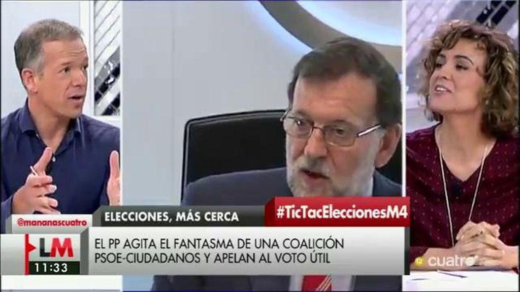 """D. Montserrat, al PSOE: """"La responsabilidad de que no haya Gobierno es vuestra"""""""