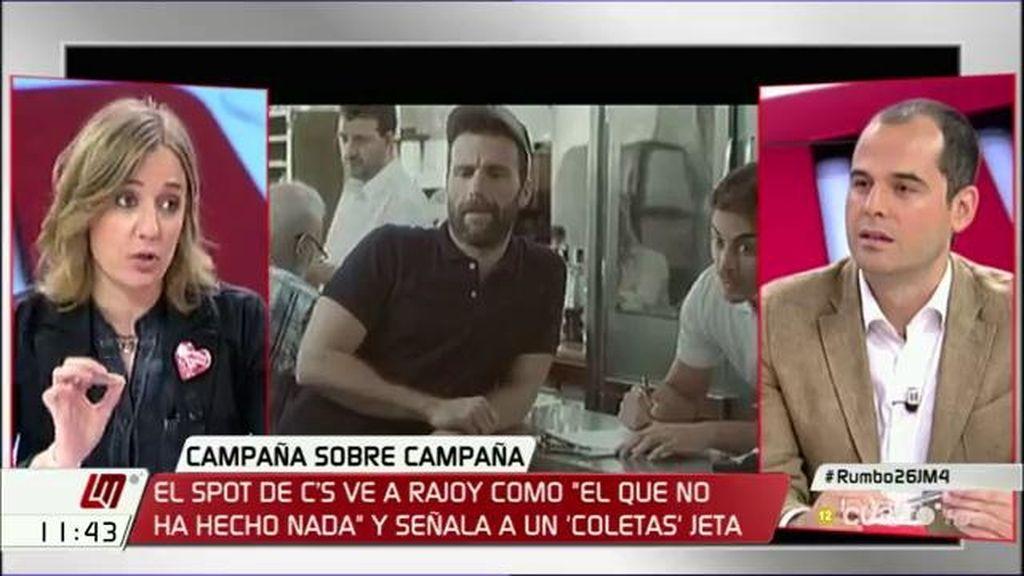 """T. Sánchez,a I. Aguado: """"El humor hay que dejárselo a los profesionales"""""""