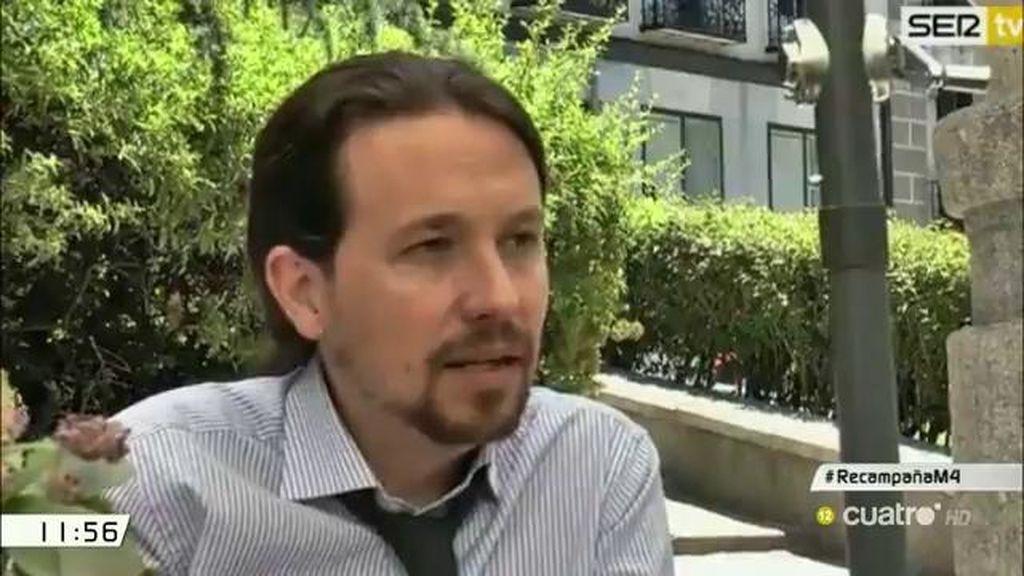 """Iglesias, de Zapatero: """"Creo que es el mejor presidente que ha tenido nuestra democracia"""""""