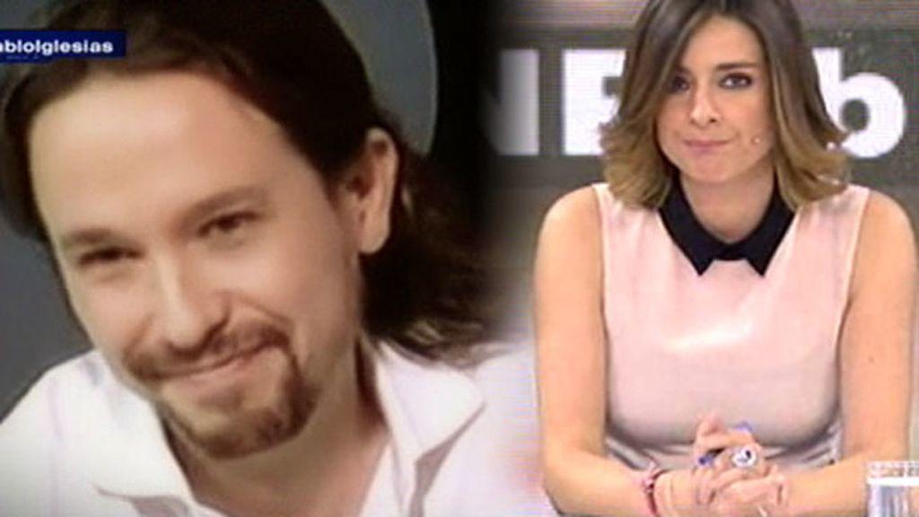 """Sandra Barneda responde a Pablo Iglesias: """"Has sesgado la información"""""""