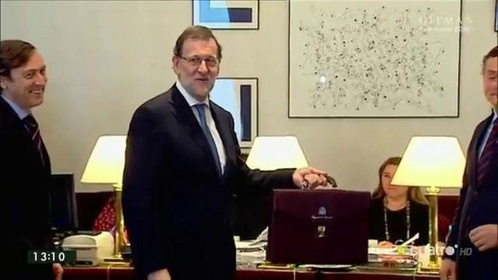 Rajoy firma su acta de diputado