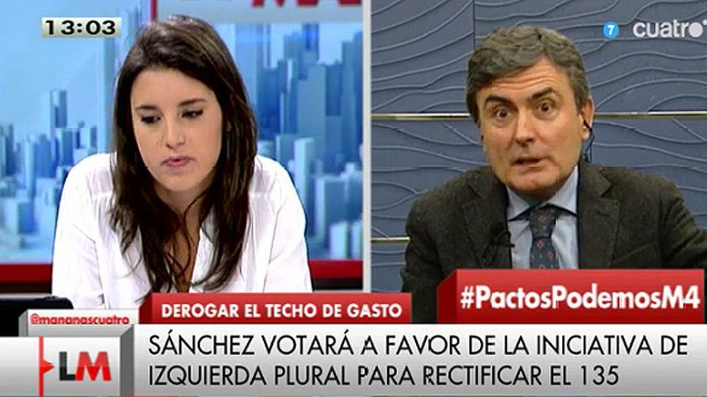 """Pedro Saura (PSOE): """"Podemos no puede dar ejemplo de coherencia"""""""