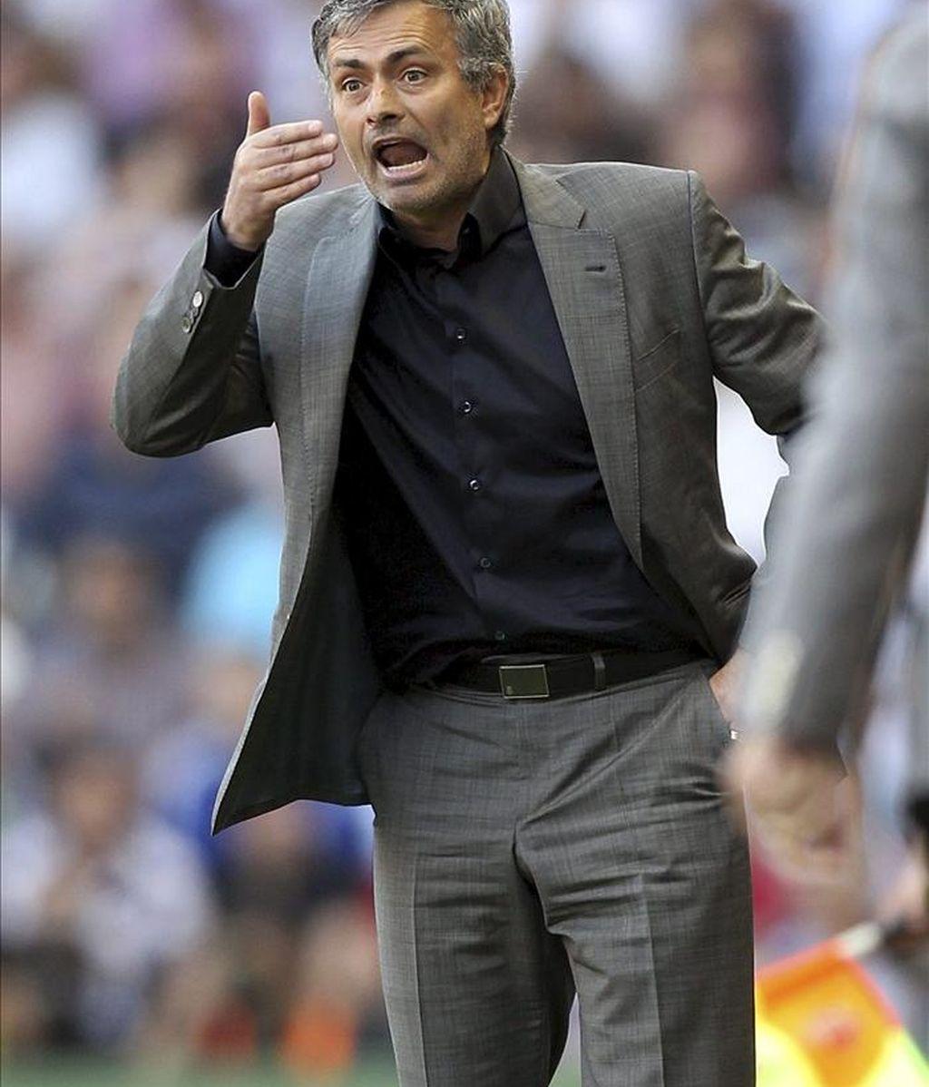 El entrenador del Real Madrid, el portugués José Mourinho. EFE