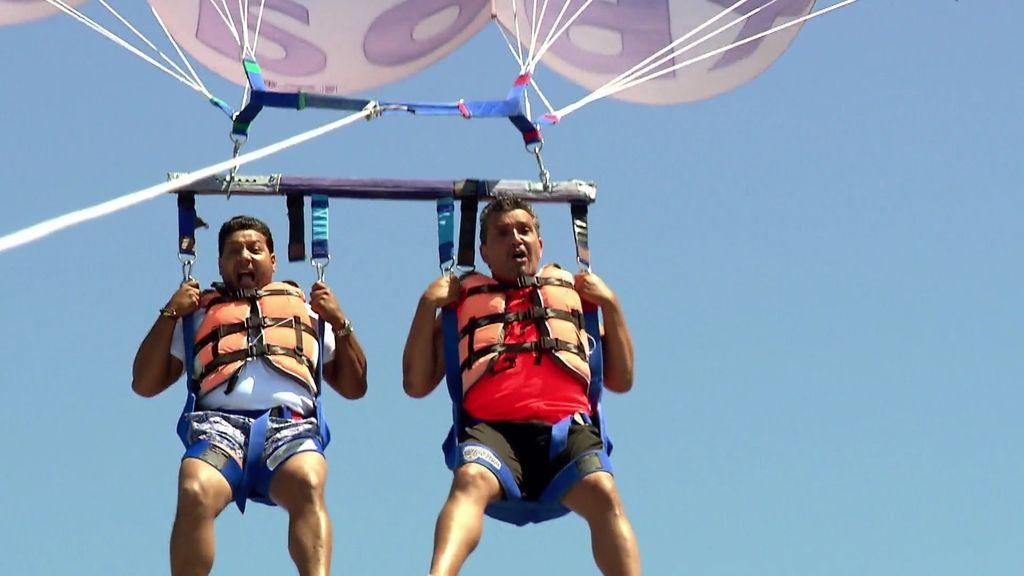 Joaquín, Mariano y su terrorífico vuelo gitano sobre el agua