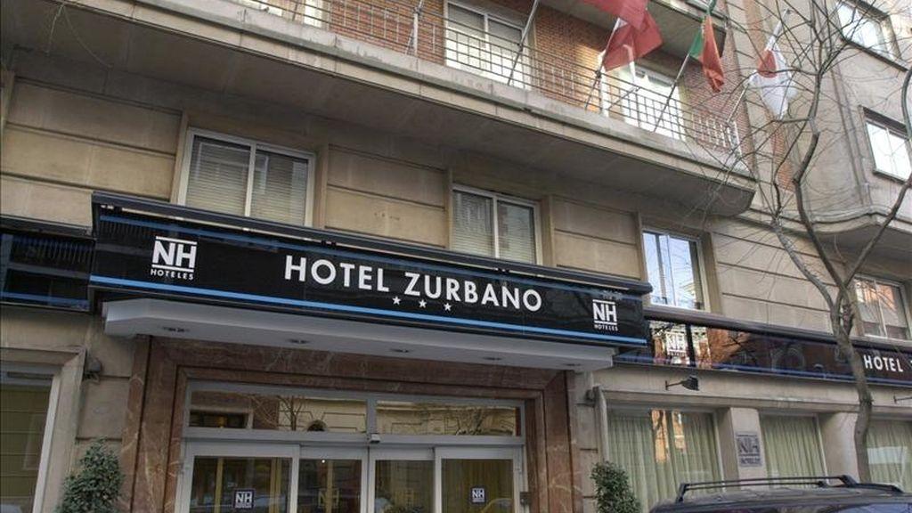 Fachada de uno de los hoteles que la cadena NH tiene en Madrid. EFE/Archivo