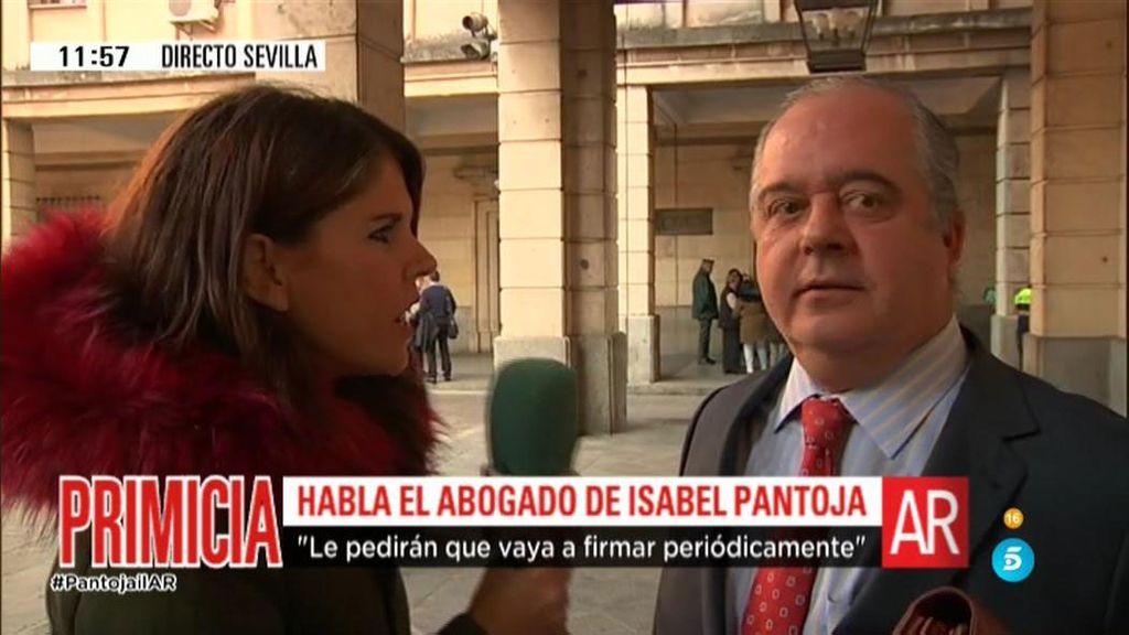 Isabel Pantoja podría tener el tercer grado antes de fin de año, según su abogado