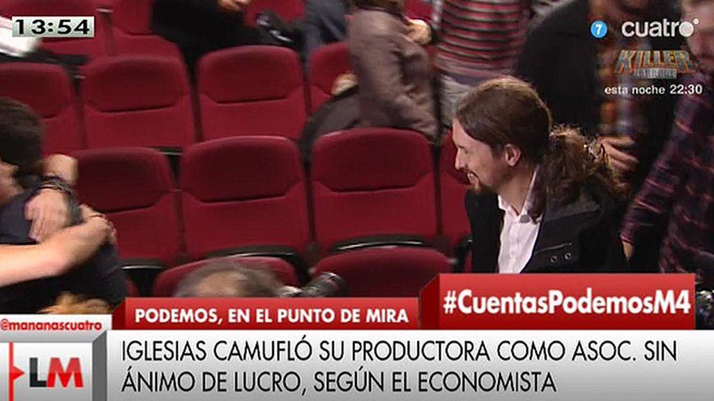 Pablo Iglesias desmiente las informaciones de 'El economista' sobre su productora