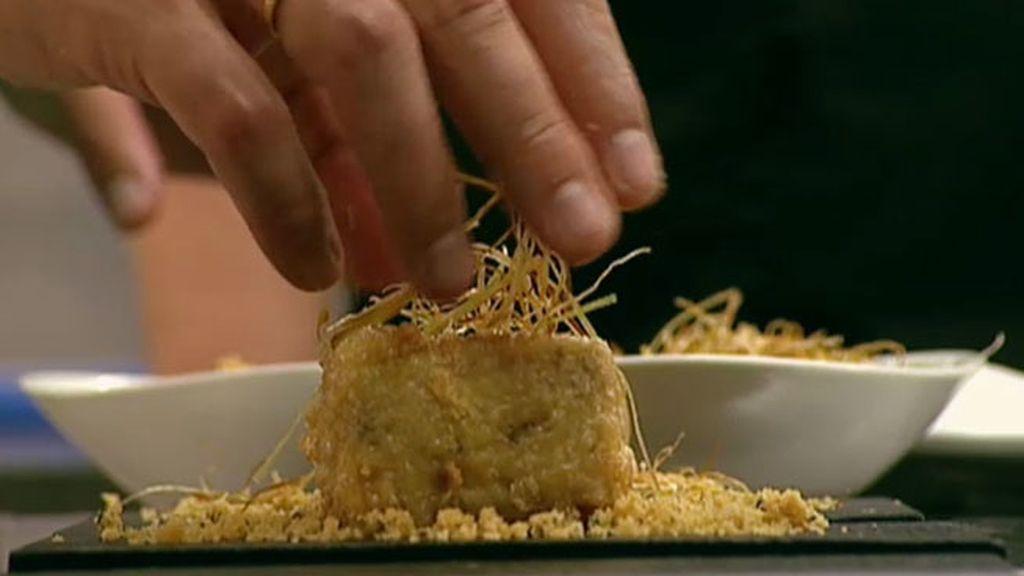 La receta de La Tahona: Alpaca castellana de arroz cremoso de boletus