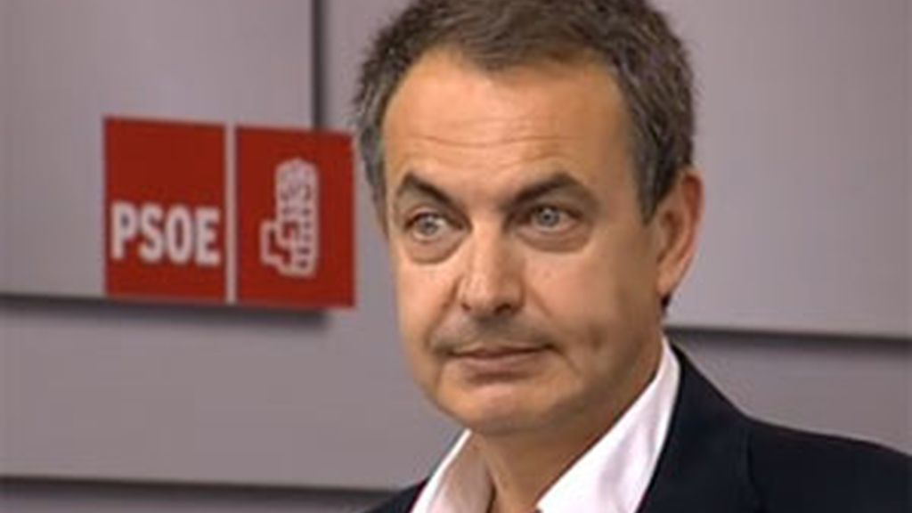 Zapatero no repetirá como presidente. Foto: Informativos Telecinco