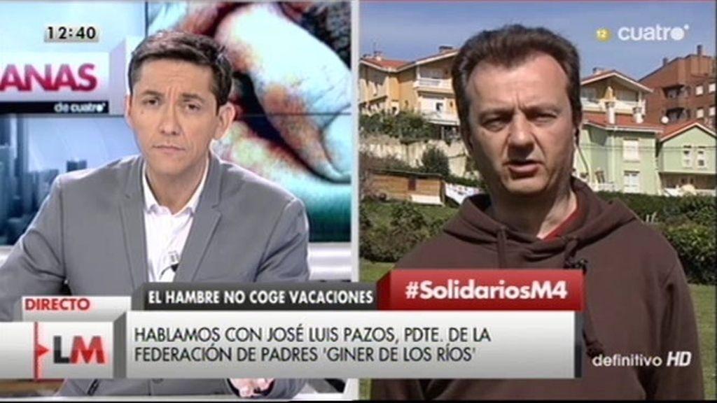 """Presidente de Asociaciones de Padres: """"Hay dinero para abrir los comedores en verano"""""""