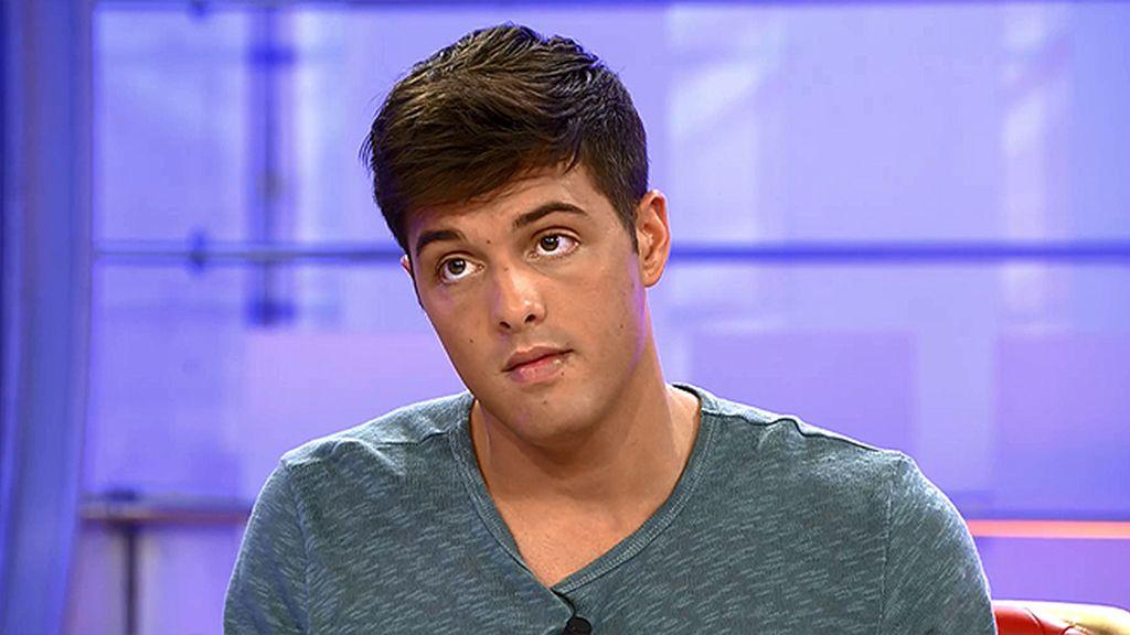 """Lukas, a Emma García: """"Creo que soy un perfil de tronista diferente"""""""