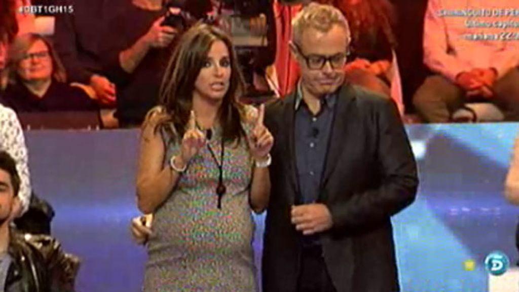Carmen Alcayde, embarazadísima