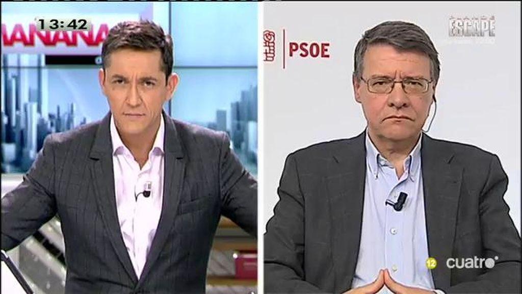 """Jordi Sevilla: """"No hacemos política en función de las encuestas"""""""