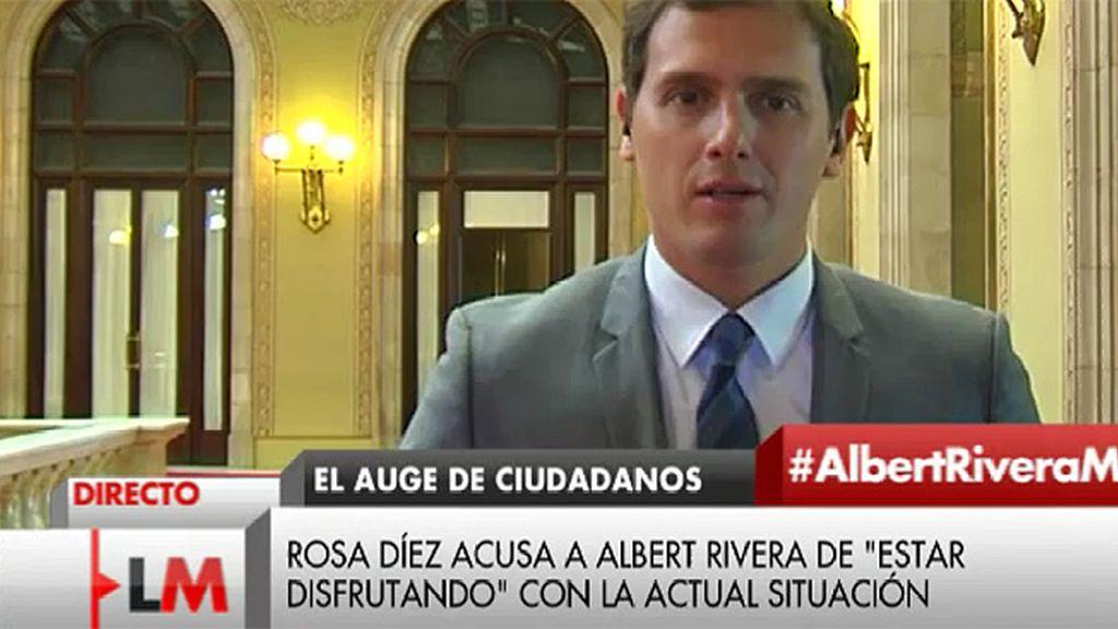 """Rivera, de UPyD: """"Si alguien está dispuesto a cambiar de rumbo 180 grados que nos llame"""""""